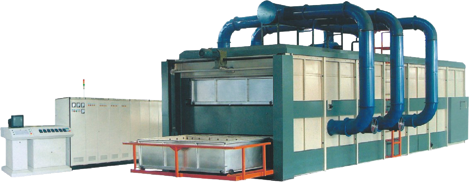 RB28A continuous thermal bending furnace