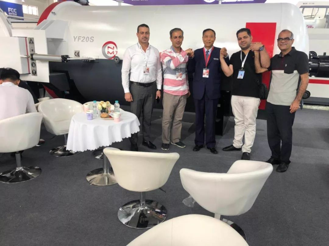 In 2019 Beijing Exhibition LNBF signed with Iran customers.