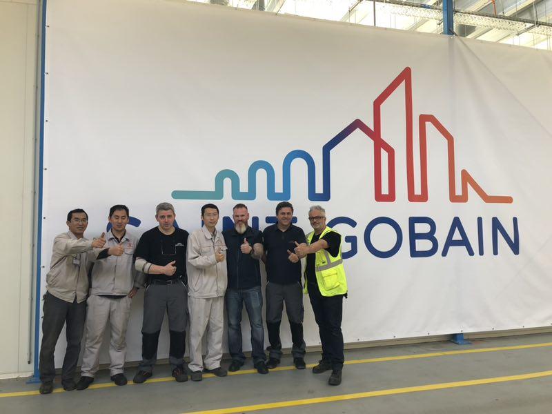 LNBF engineers go to Saint-Gobain, Germany