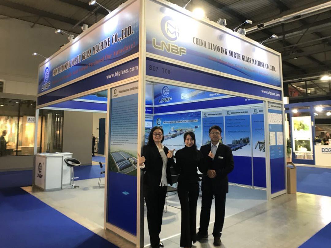 LNBF attends Italian Glass Exhibition