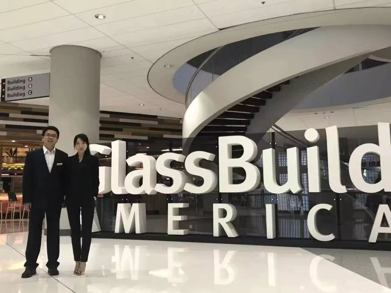 LNBF attends 2017 American Glass Exhibition
